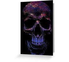Galactic Skull 2 Greeting Card