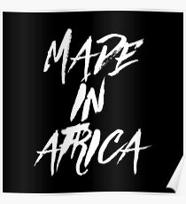 MADE IN AFRICA Poster