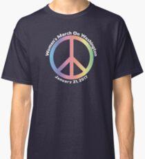 Women's March On Washington Peace Sign Classic T-Shirt