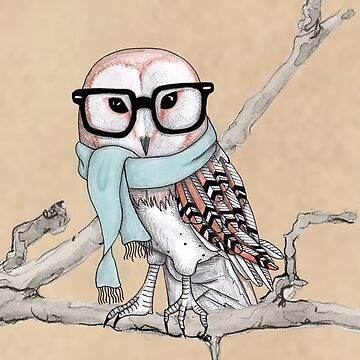 Groovy Owl by QuincyLim
