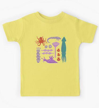 Sea Creatures Kids Clothes