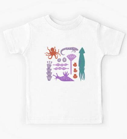 Sea Creatures Kids Clothes
