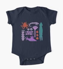 Sea Creatures One Piece - Short Sleeve
