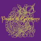 Peace Harmony Goddess by Zehda