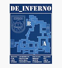 CSGO DE_INFERNO (old map ) Photographic Print
