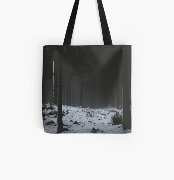 The Whispering Forest All Over Print Tote Bag