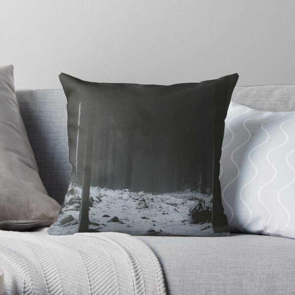 The Whispering Forest Throw Pillow