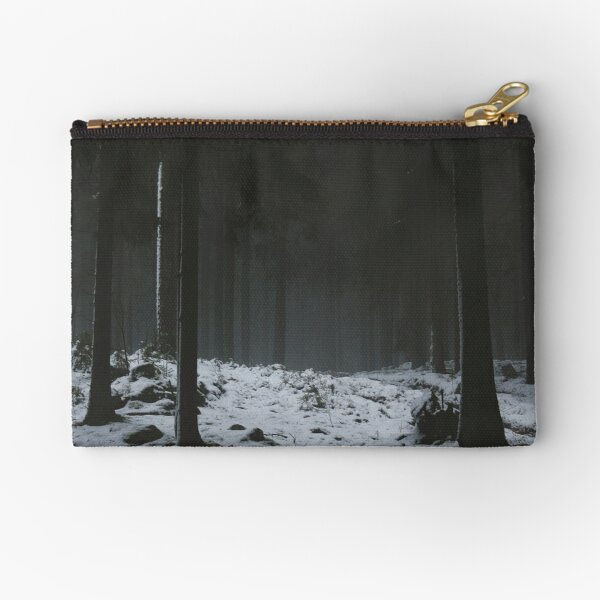 The Whispering Forest Zipper Pouch
