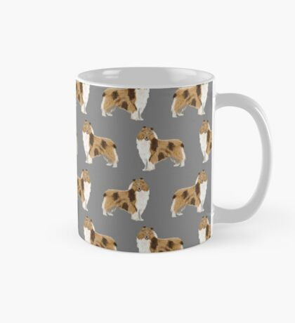 rough collie dog design dog pattern dog print rough collies gifts accessories Mug