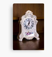 Old-fashioned Clock - Object Photography Canvas Print