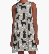 boykin spaniel dog coffee gifts art accessories boykin spaniels dog design A-Line Dress