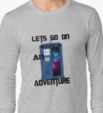 TARDIS- Let's go on an adventure #1 T-Shirt