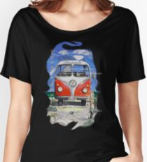 Eyre Peninsula, Beach Kombi Women's Relaxed Fit T-Shirt