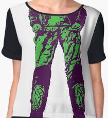 snake Women's Chiffon Top