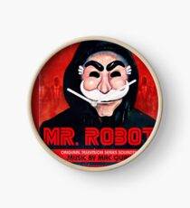 Mr Robot FSociety Clock