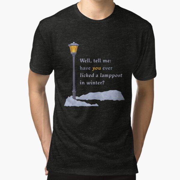 Alistair Lamppost Design Tri-blend T-Shirt