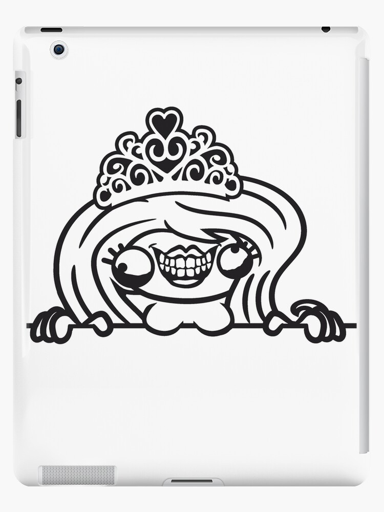 wall frame text ugly monster girl sexy woman queen princess queen ...