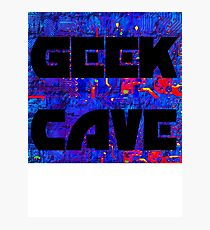 return to the geek cave Photographic Print