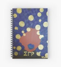Sigma Gamma Rho Diva Spiral Notebook
