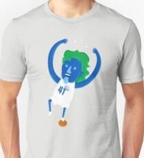 Dirk Nowitzki the Big Nimble German Baller T-Shirt