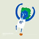 Dirk Nowitzki the Big Nimble German Baller by mykowu