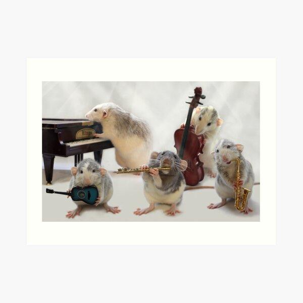 The Quintet Art Print