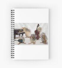 The Quintet Spiral Notebook