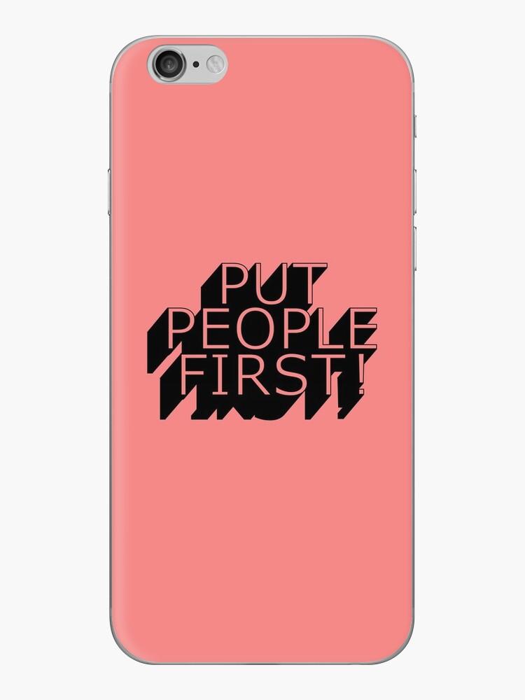 Stellen Sie Leute zuerst! von Presumably
