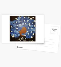Zeta Phi Beta Diva Postcards
