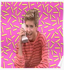 Saved By The Bell Design Illustration Posters Redbubble