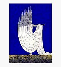 "Art Deco Design by Erte ""North Sea"" Photographic Print"