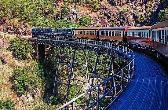 Crossing Stoney Creek Falls Bridge by TonyCrehan