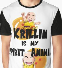 Krillin is my Spirit Animal Graphic T-Shirt
