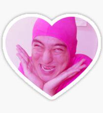 Love Pink Guy Sticker