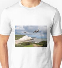Nine Sisters - Lancasters over the south coast Unisex T-Shirt