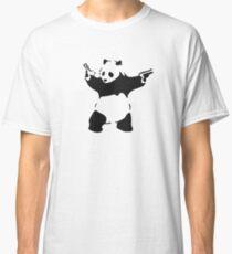 Banksy - armed Panda Bear Classic T-Shirt