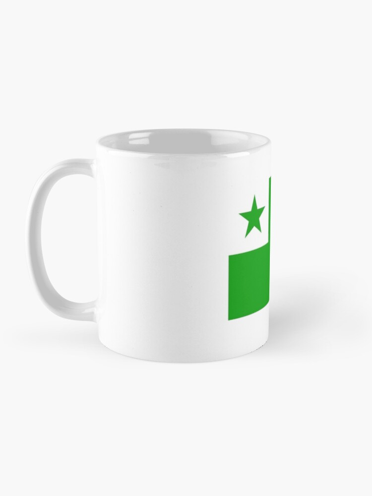 Alternate view of La Standardo Esperanta Mug