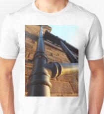 Sun kissed drain pipe  Unisex T-Shirt