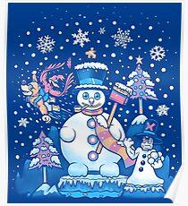 Freezy Winterland Poster