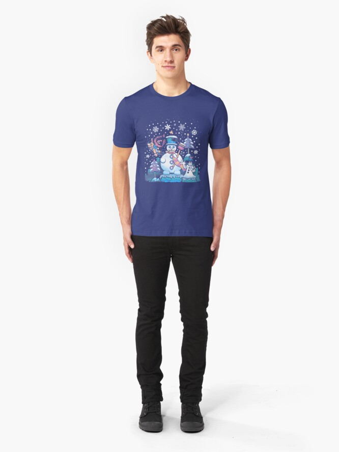 Alternate view of Freezy Winterland Slim Fit T-Shirt