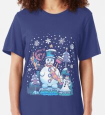 Freezy Winterland Slim Fit T-Shirt
