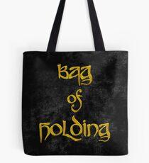 Bag of Holding - Black Velvet Tote Bag