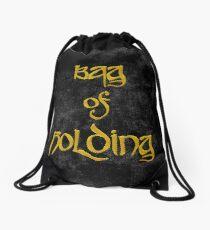 Bag of Holding - Black Velvet Drawstring Bag