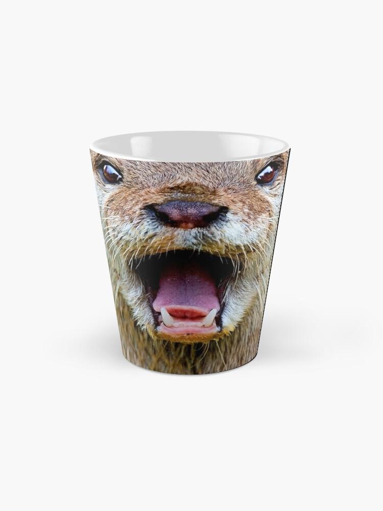 Alternate view of Otter Mug