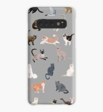 Many Meows Case/Skin for Samsung Galaxy