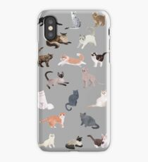 Many Meows iPhone Case