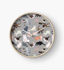 Many Meows Clock