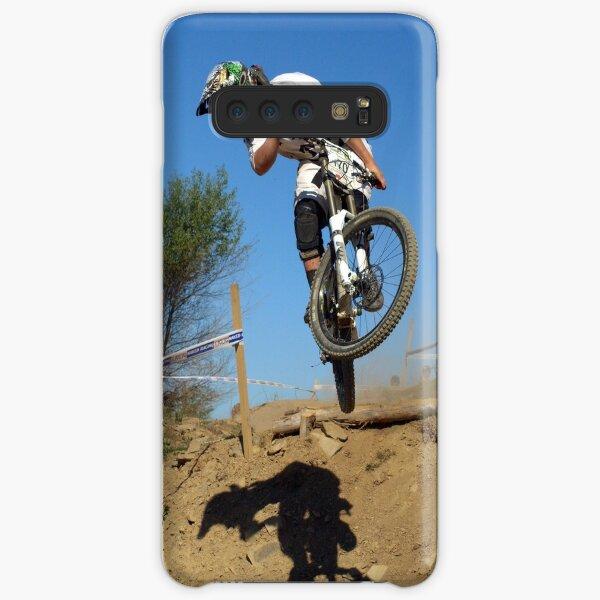 Downhill mountain biker Samsung Galaxy Snap Case
