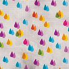 Colorful Rain  by MajaVeselinovic