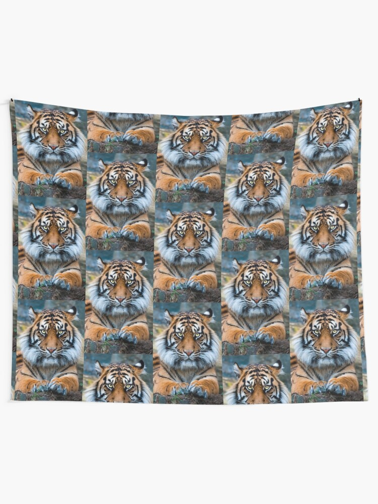 Alternate view of Sumatran Tiger Tapestry
